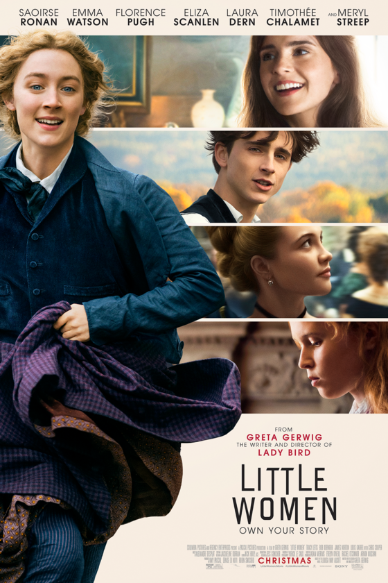 Cover+of+the+new+movie+%27Little+Women%27+starring+Saoirse+Ronan%2C+Timothee+Chalamet%2C+and+Emma+Watson