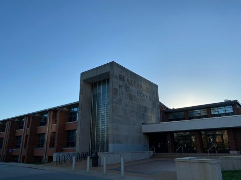 Due to school closure, Clayton High School students have now began online school.
