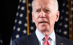 Former US Vice President and Democratic presidential hopeful Joe Biden