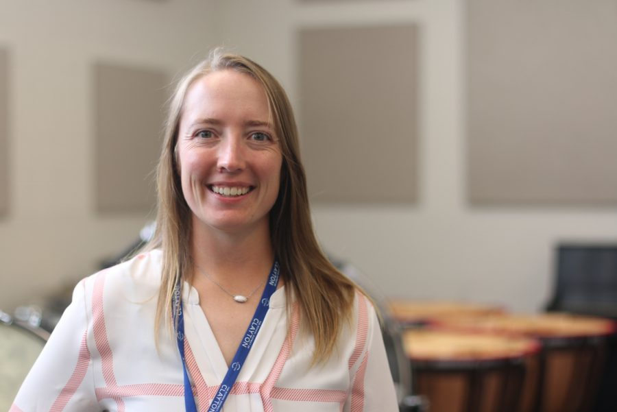 Alyssa Overmann has joined the Clayton High School staff as the band director