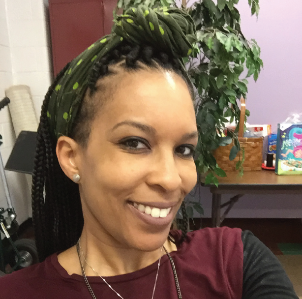Photo of new English teacher Erika Whitfield, who formerly taught at SLPS