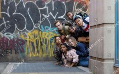 Lizy Koshy as Jasmine Hale, Tyler Hutchings as Robby G., Bianca Asilo as Raven, Nathaniel Scarlette as DJ Tapes, Neil Robles as Chris Royo, Sabrina Carpenter as Quinn Ackerman and Indiana Mehta as Priya 'Work It' Film - 2020 When Quinn Ackerman's admission to the college of her dreams depends on her performance at a dance competition, she forms a ragtag group of dancers to take on the best squad in school...now she just needs to learn how to dance.