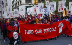 A 2019 Chicago Teachers  Union rally