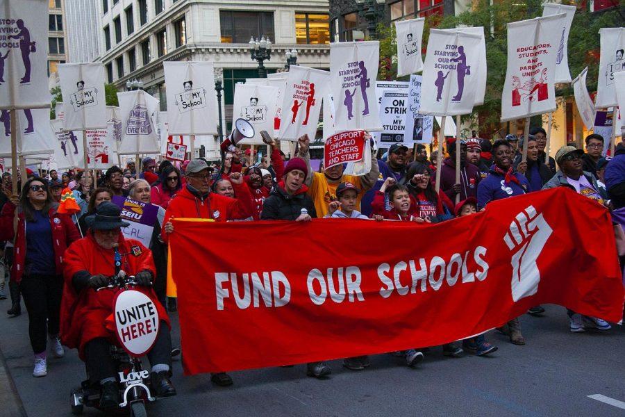 A+2019+Chicago+Teachers++Union+rally