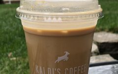 Kaldi's Pumpkin Spice Latte on a cool fall day.