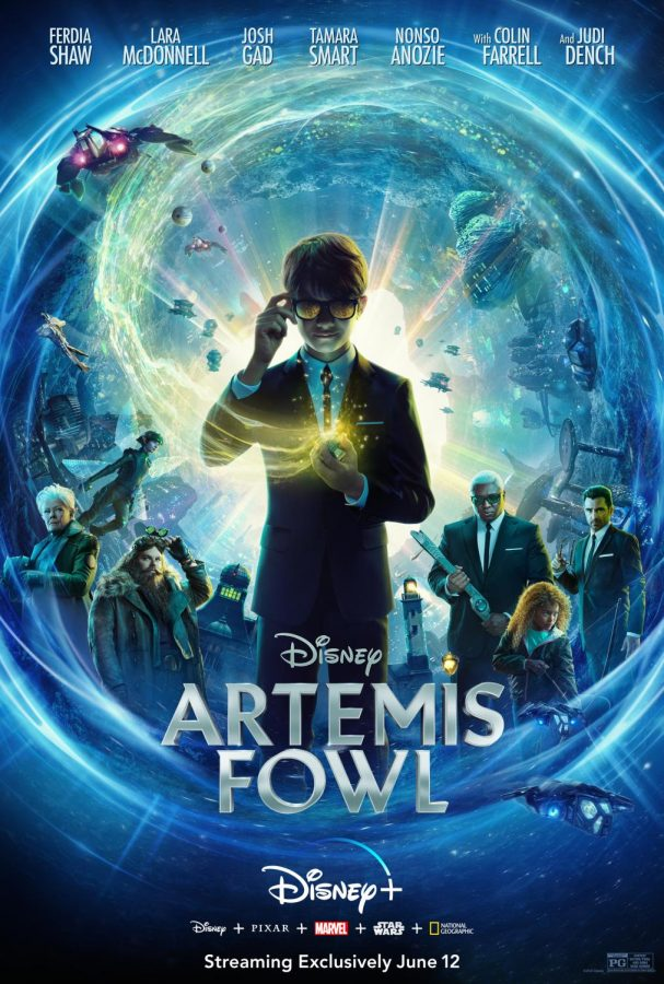 Artemis Fowl Official Movie Poster. Artemis is a Disney movie that was recently released