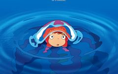 Official poster of Ponyo, a movie that was released in 2008