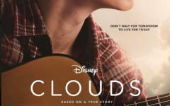 Clouds movie poster, a Disney Plus movie about an ill teenager who forms a music group