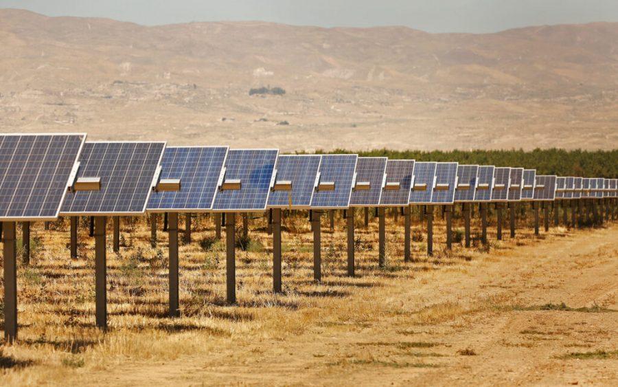 The Maricopa Orchard solar project. (Al Seib/Los Angeles Times/TNS)