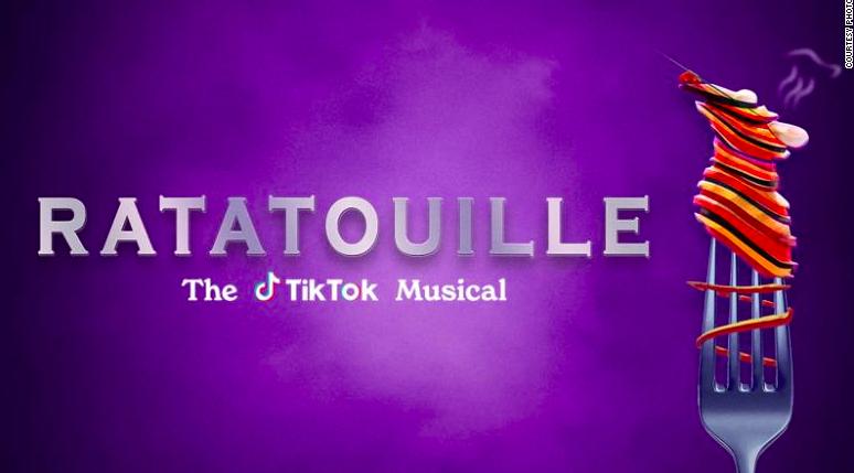 Ratatouille the Tiktok musical design.