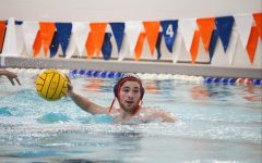 Senior Pablo Buitrago looks to pass the ball in a game against Parkway North