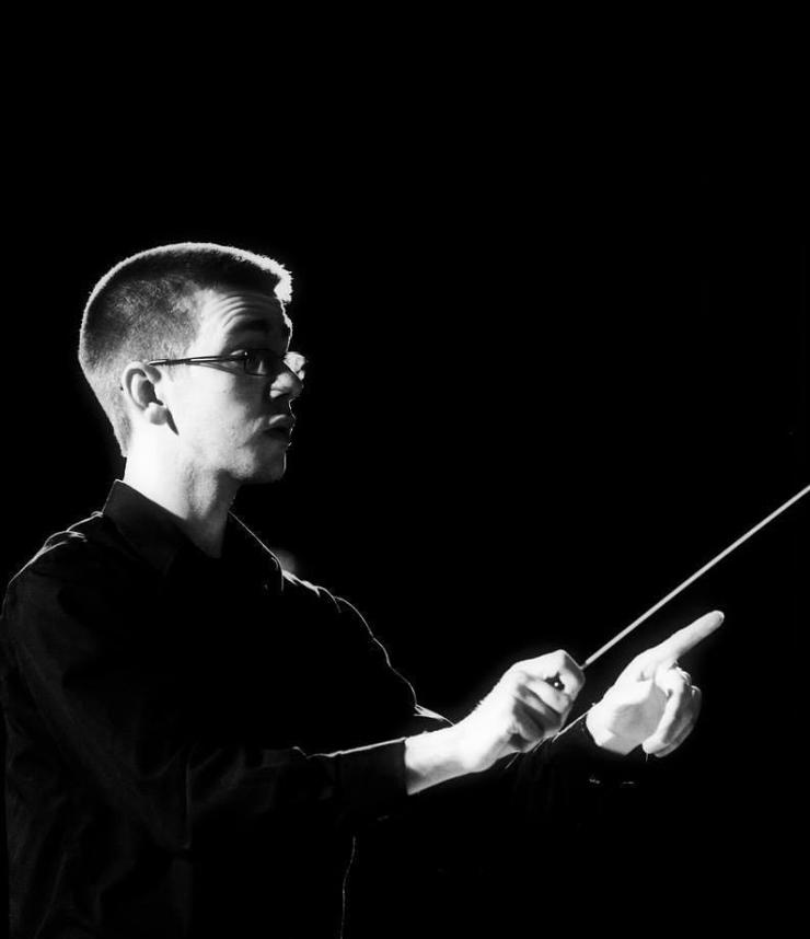 Band Teacher Noah Petti