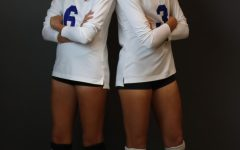 Freshman Hannah Taylor (left), Senior Sarah Taylor (right)